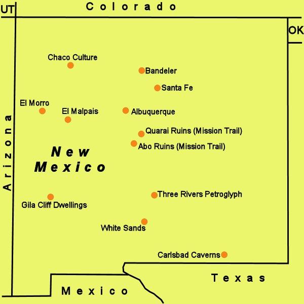 albuquerque Petroglyph Nat Mon Sandia Peak New Mexico
